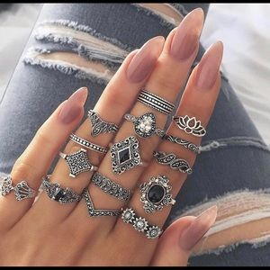 Jewelry - 🔥NEW ARRIVAL🔥 15 piece Bohemia Ring Set